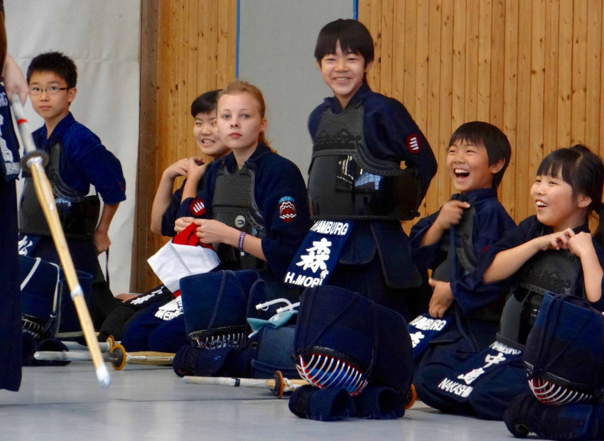 Kendo-Abteilung hat Besuch