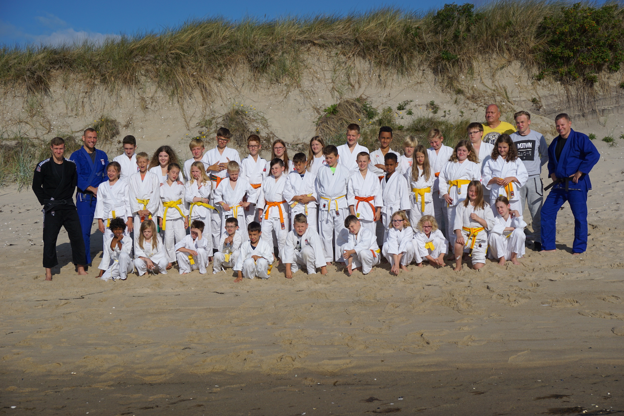 Traditionelles Ju-Jutsu Sommer-Trainingslager