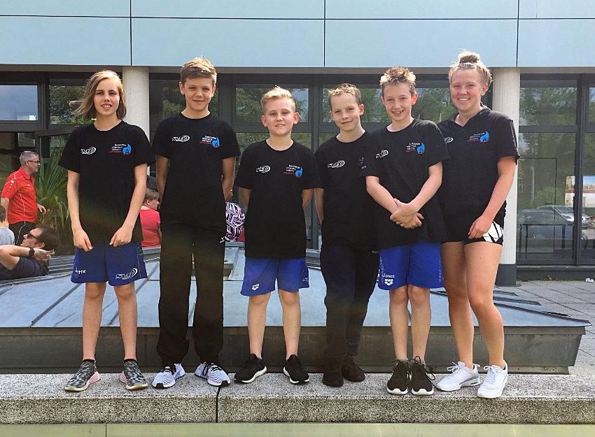 Erfolgreiches Wochenende für SVE-Schwimmer