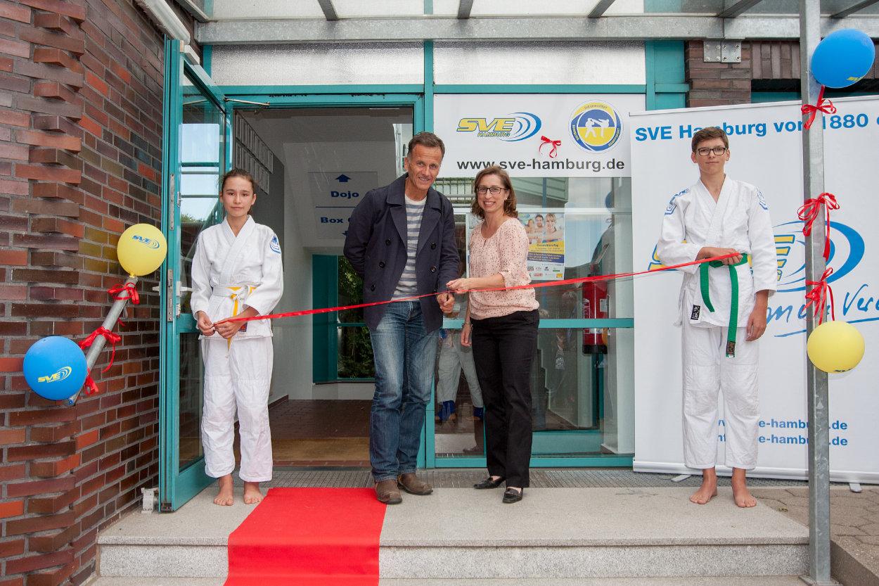 Neues Kampfsportzentrum feierlich eröffnet