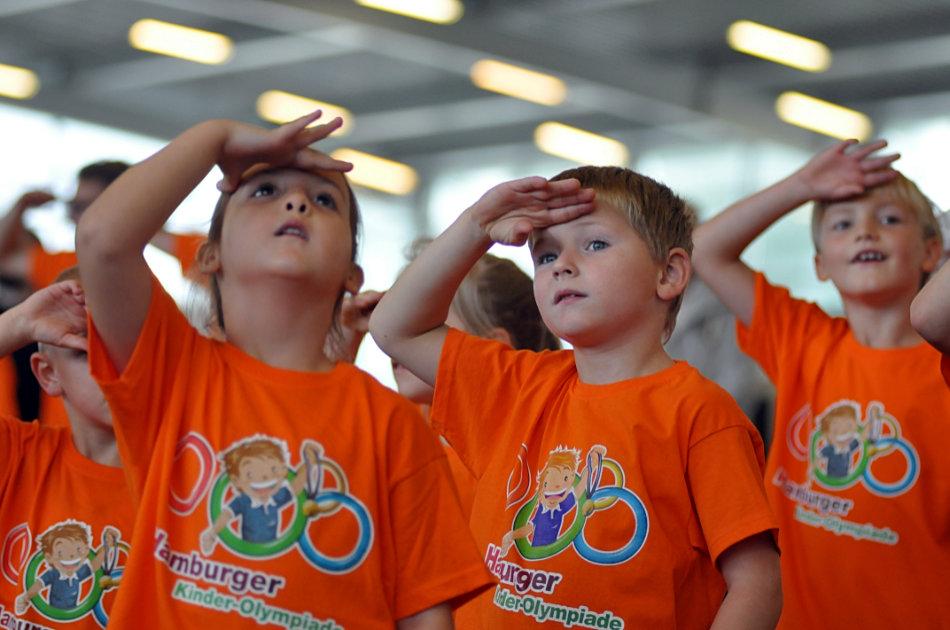 Großes Finale der 13. Kinder-Olympiade – SVE wieder dabei