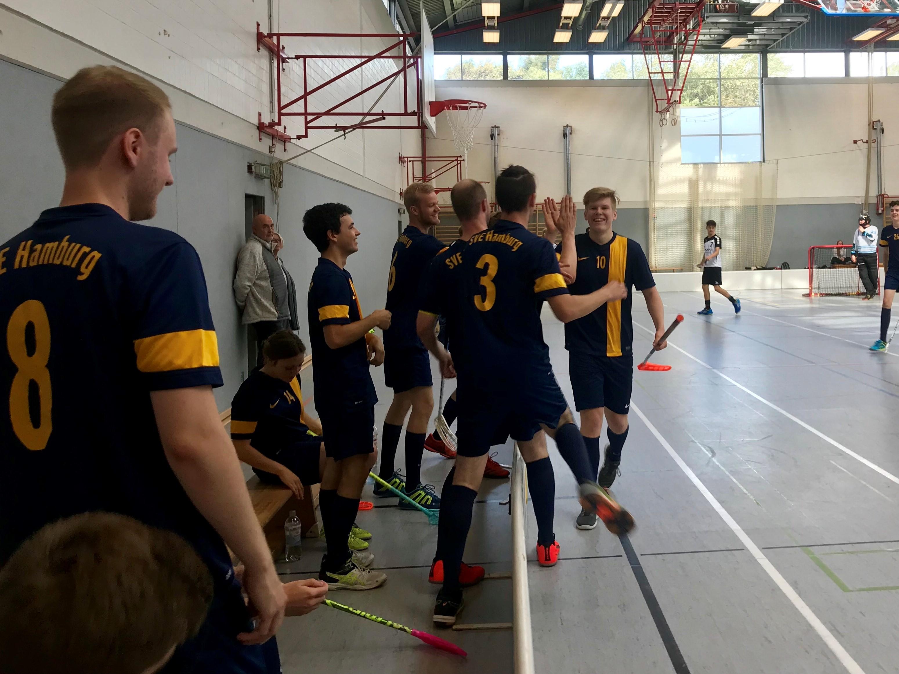 SVE-Floorballer steigen in die Regionalliga auf