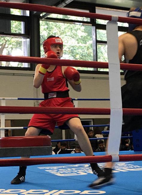 Drei-Runden-Sieg für SVE-Boxer Madin