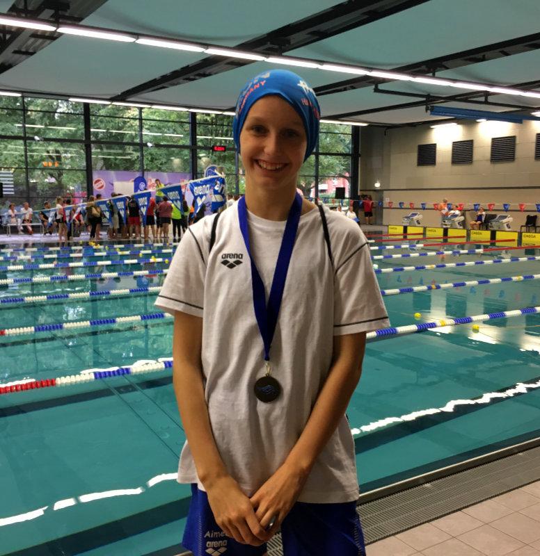 Starke Vorstellung – SVE-Schwimmer werden Vierter beim SprintCup