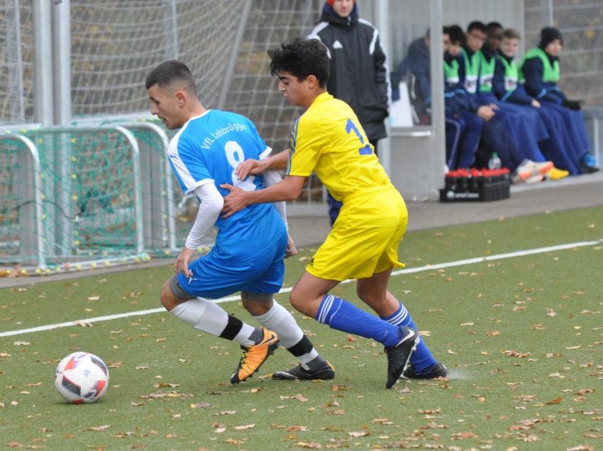 C-Junioren ärgern Spitzenreiter in der Fußball-Oberliga