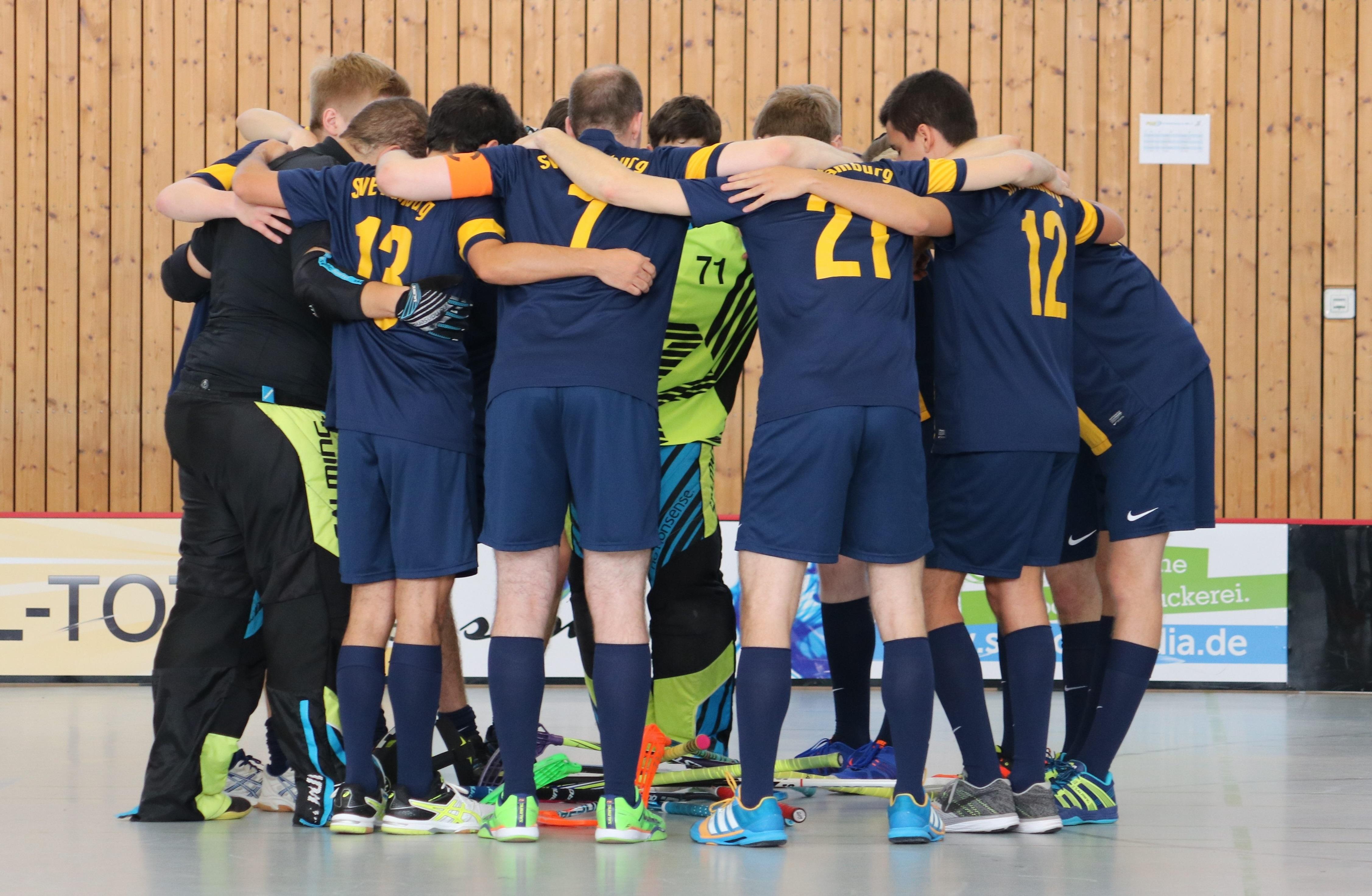 SVE-Floorballer festigen trotz Niederlage dritten Platz
