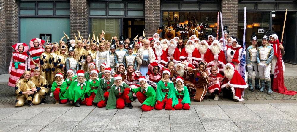 SVE-Tanzgruppe begeistert auf Weihnachtsparade