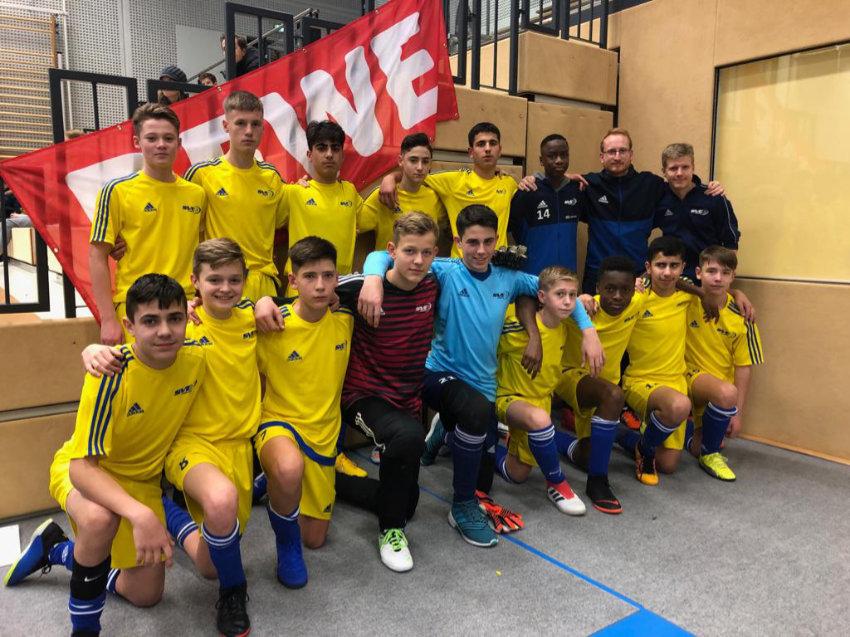 Fünfter Platz beim Rewe-Cup – C-Junioren mit starker Leistung