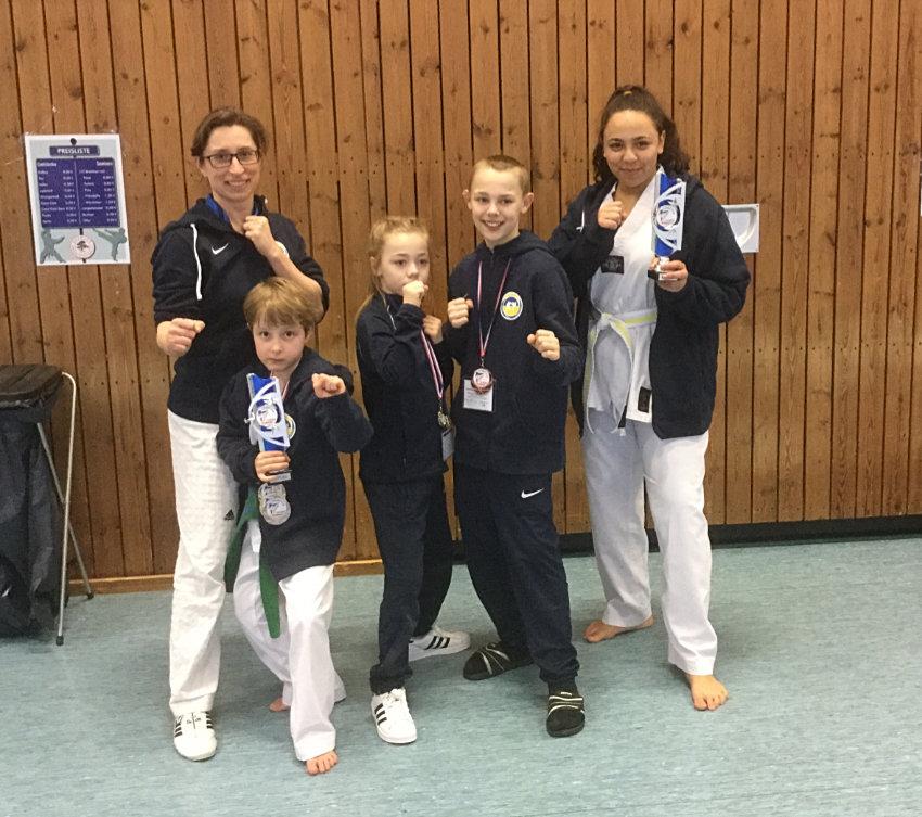 Gelungener Start der SVE-Taekwondo-Gruppe