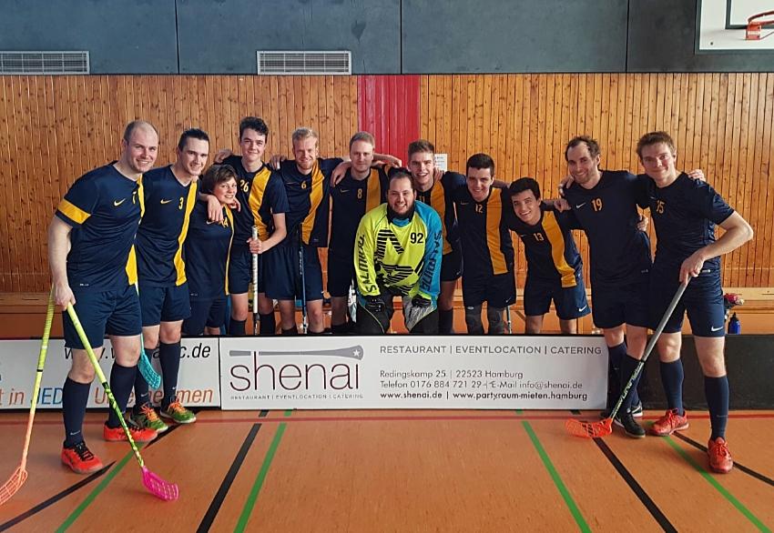 Wichtiger Sieg für Verbandsliga-Floorballer des SVE