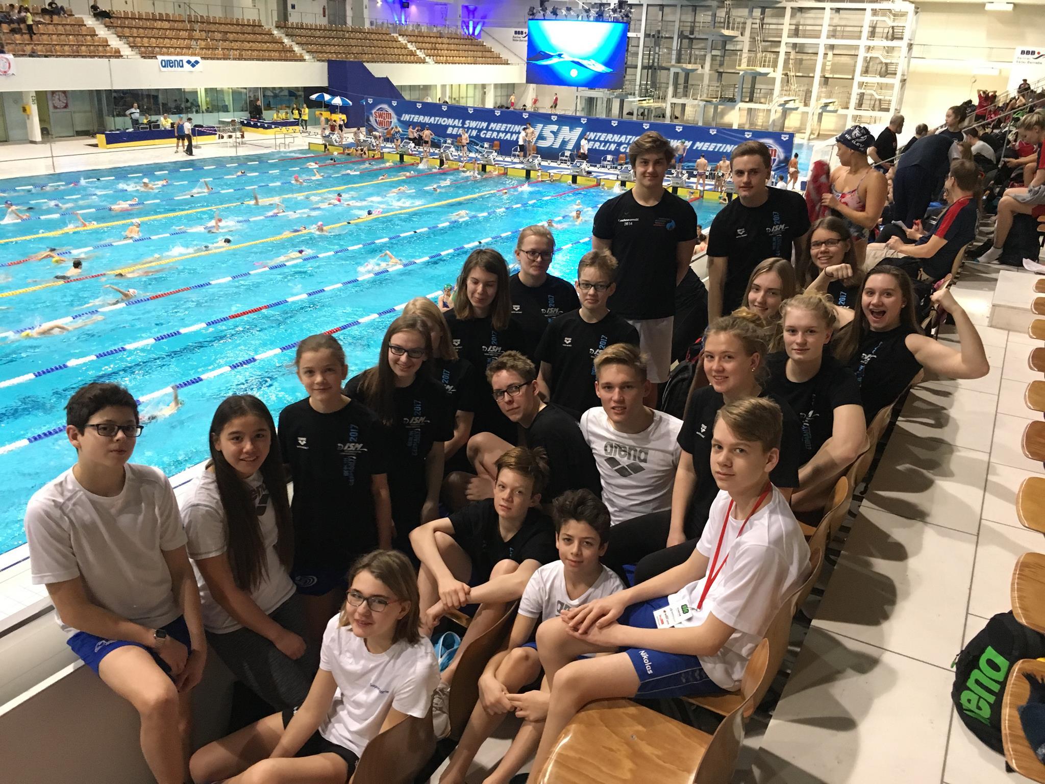 SVE-Schwimmer messen sich international