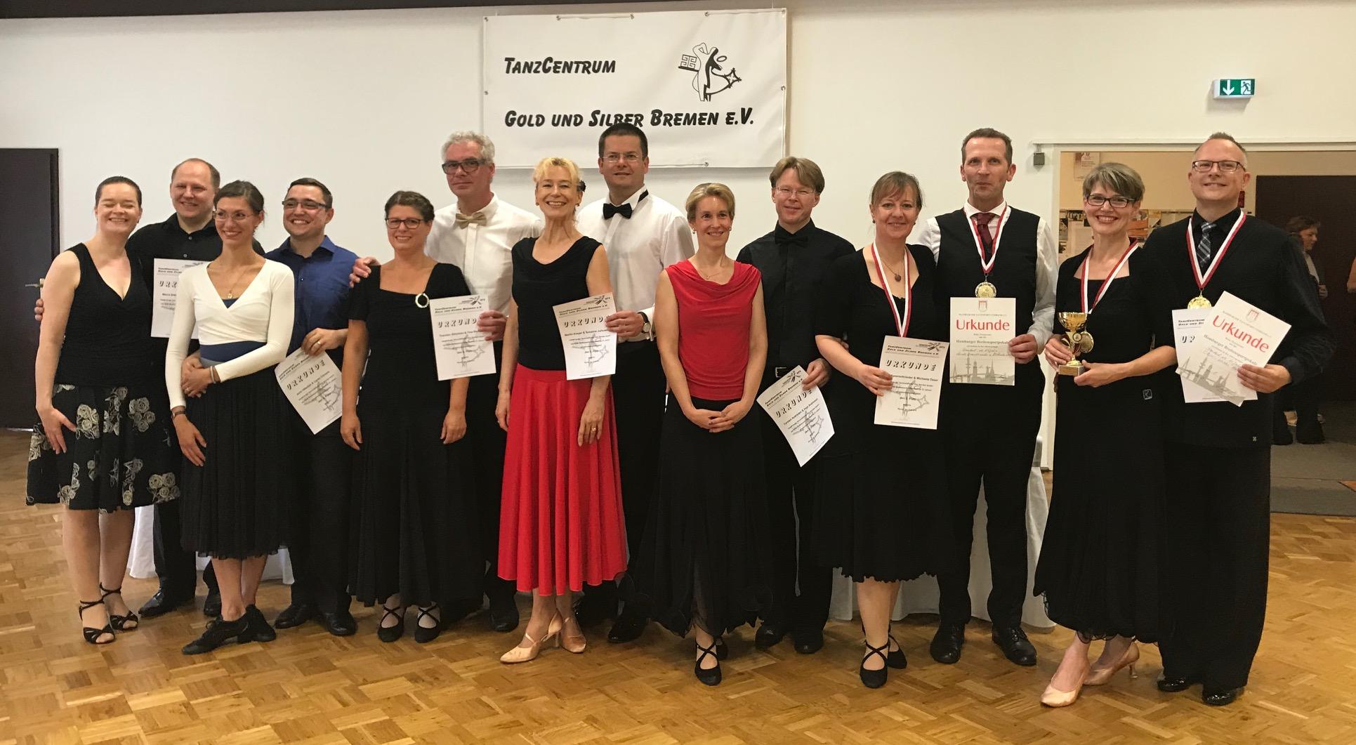 Zwei Goldmedaillen für SVE-Tänzer