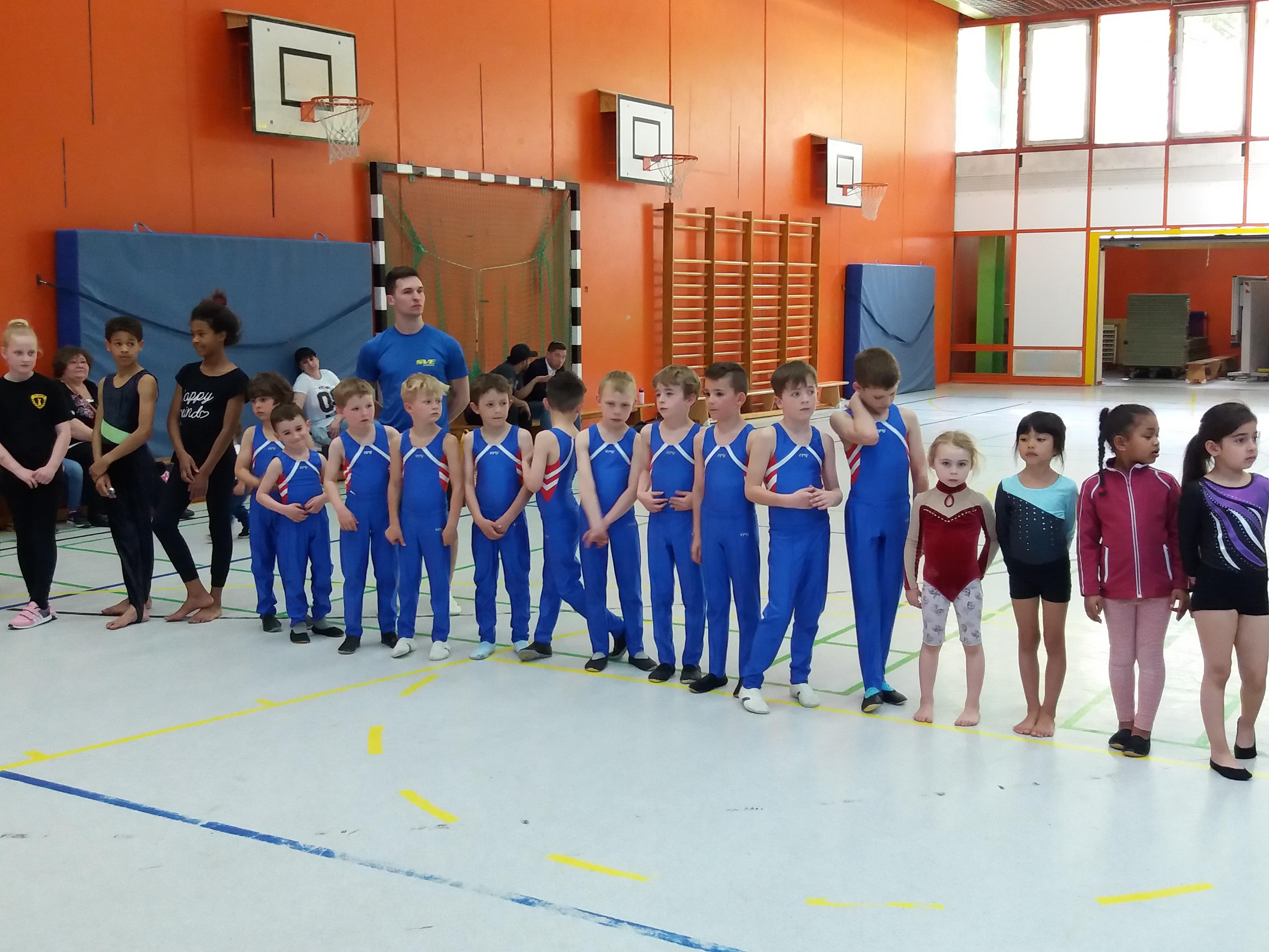 Viele SVE-Kids beim Sausewind-Turnen erfolgreich