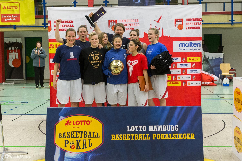 Basketballerinnen holen Pokalsieg