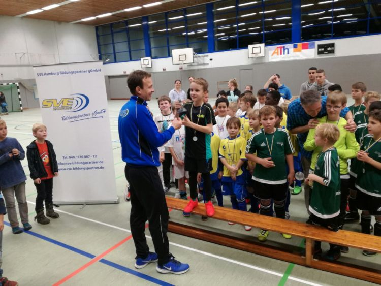 Grundschul-Cup mit dem SVE