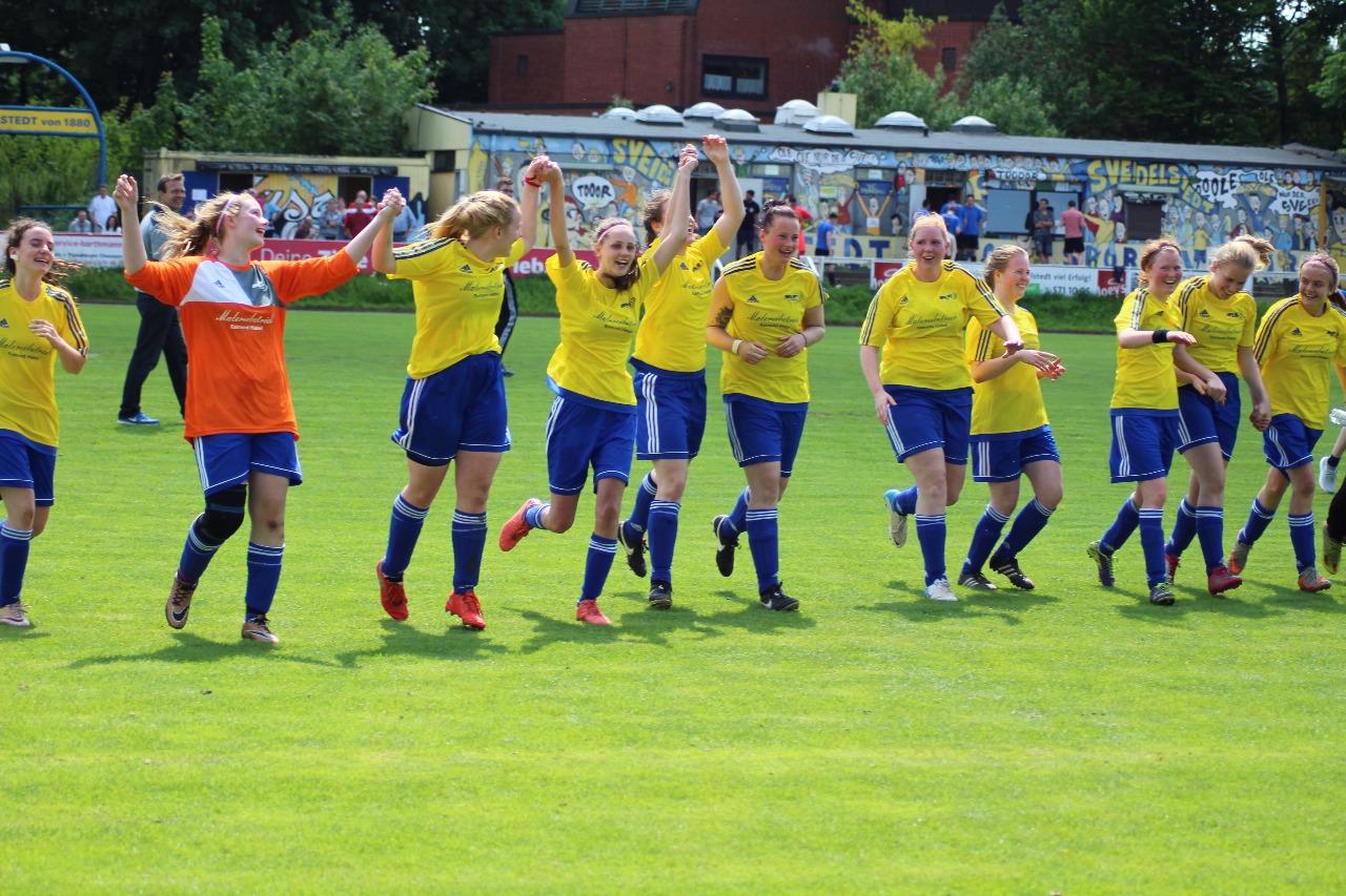 Aufstiegsspiel in der Frauen-Kreisliga am Redingskamp