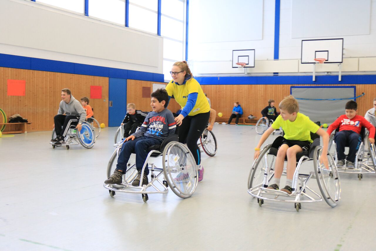 Nicht verpassen am 24. Mai: Tide war zu Besuch beim SVE wheelchair soccer!