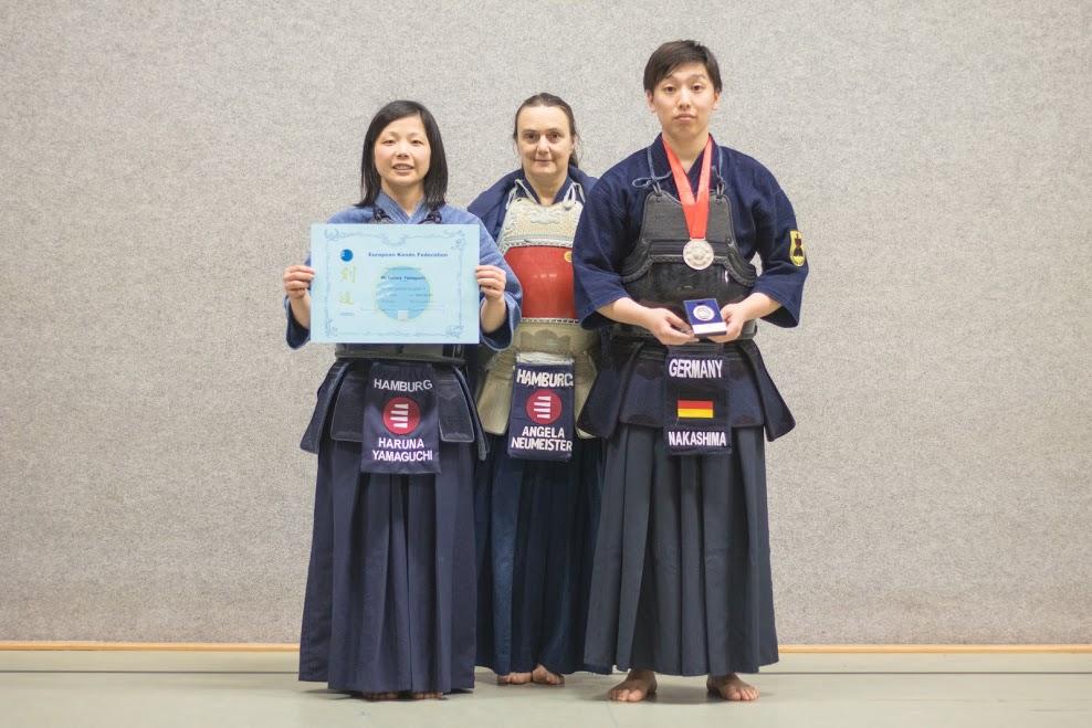 Kendo-Sportler überzeugen im nationalen und internationalen Vergleich