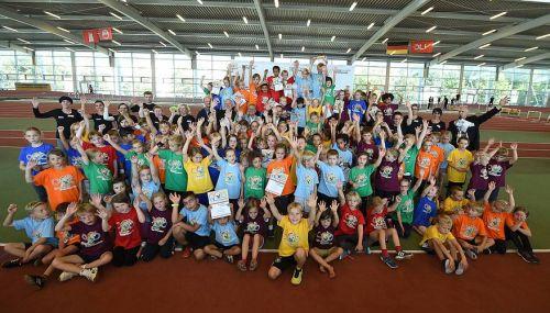 Kinderolympiade-Finale mit SVE-Beteiligung