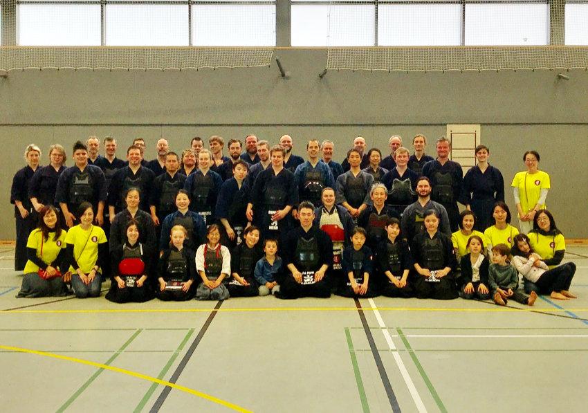 Kendo-Bundestrainer leitet Lehrgang