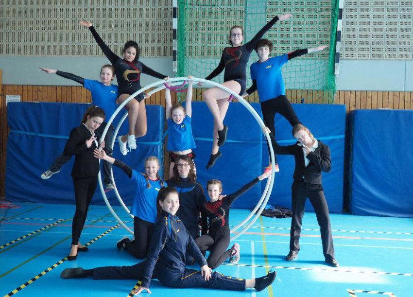 Rhönrad-TurnerInnen sehr erfolgreich beim Nord-Ostsee-Pokal