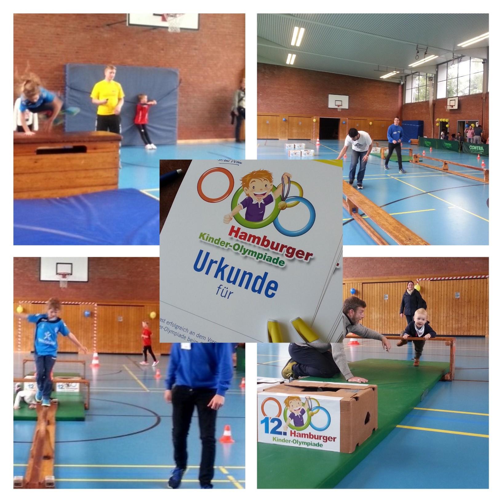 "SVE Hamburg: 12. Kinder-Olympiade – ""Hamburg bewegt sich"""