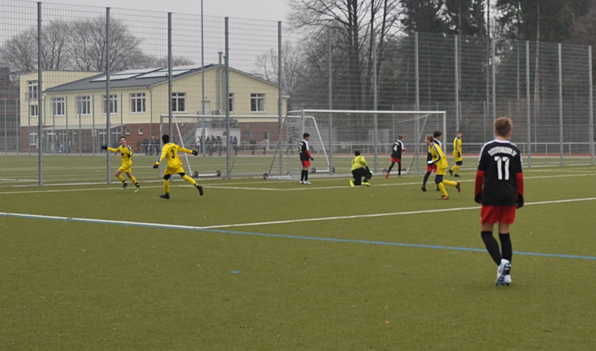 2. C startet mit Heimsieg in das Abenteuer Bezirksliga
