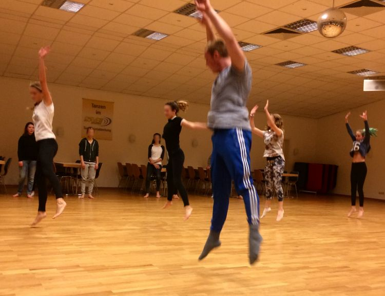 Gruppenstart Jugendgruppe Jazz und Modern Dance