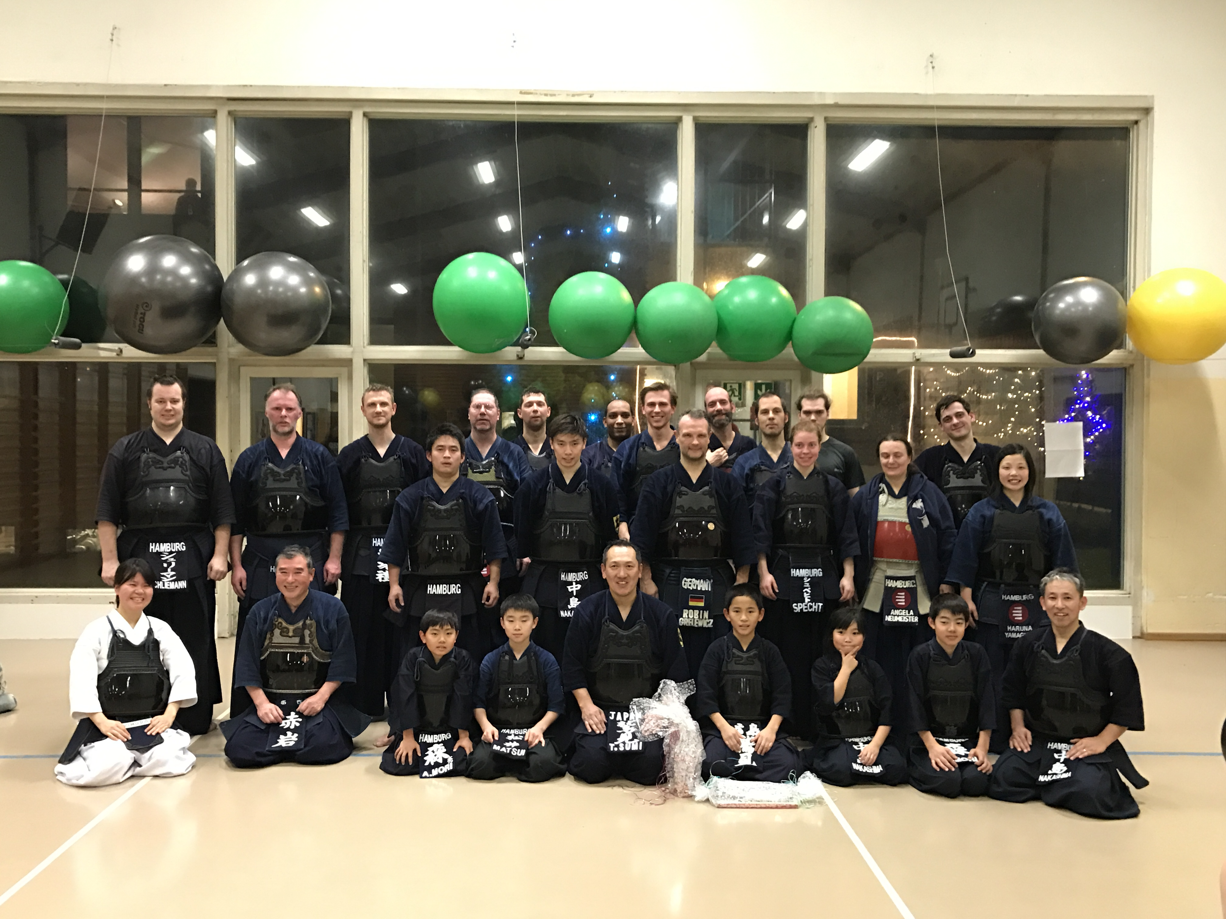 Kendo-Neujahrstraining mit Sumi-Sensei