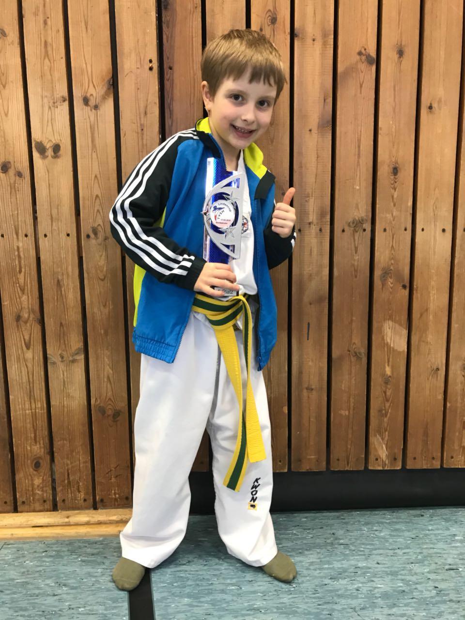 Erster Platz für Taekwondo-Nachwuchs des SVE