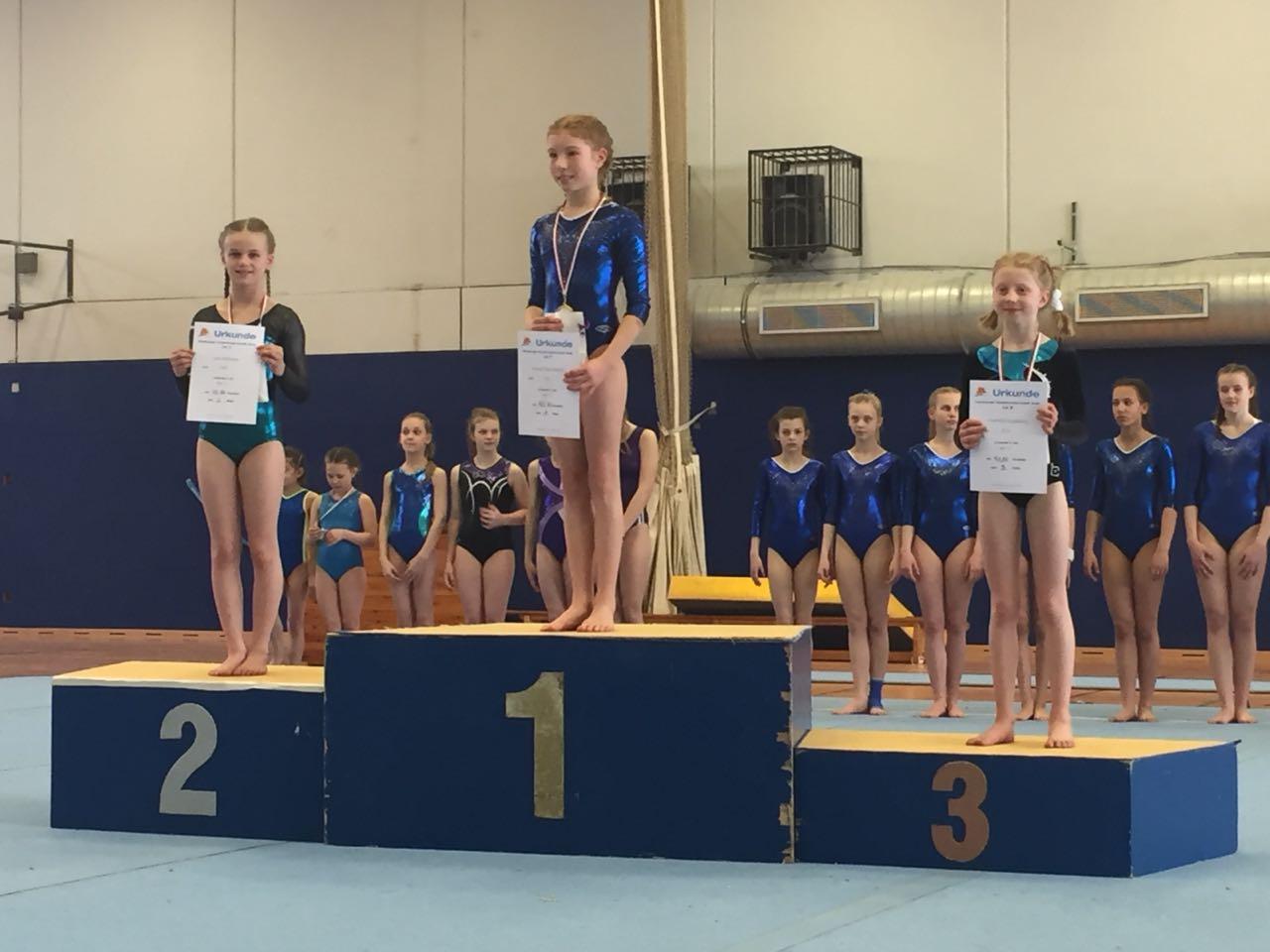 SVE-Turnerinnen überzeugen bei den Einzelmeisterschaften
