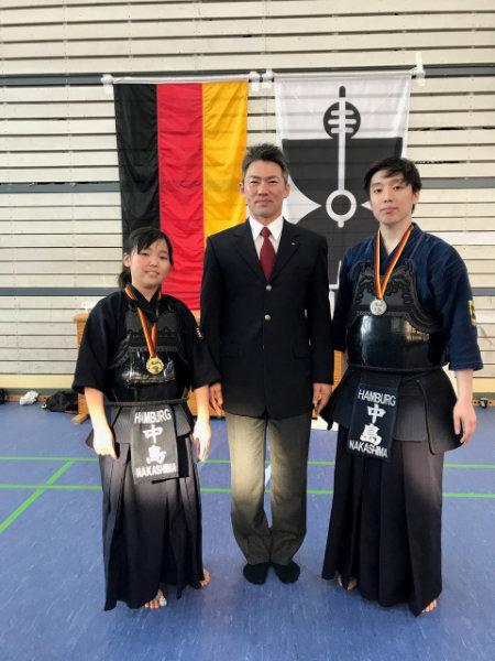 Tomomi Nakashima siegt beim Deutschen Jugendcup
