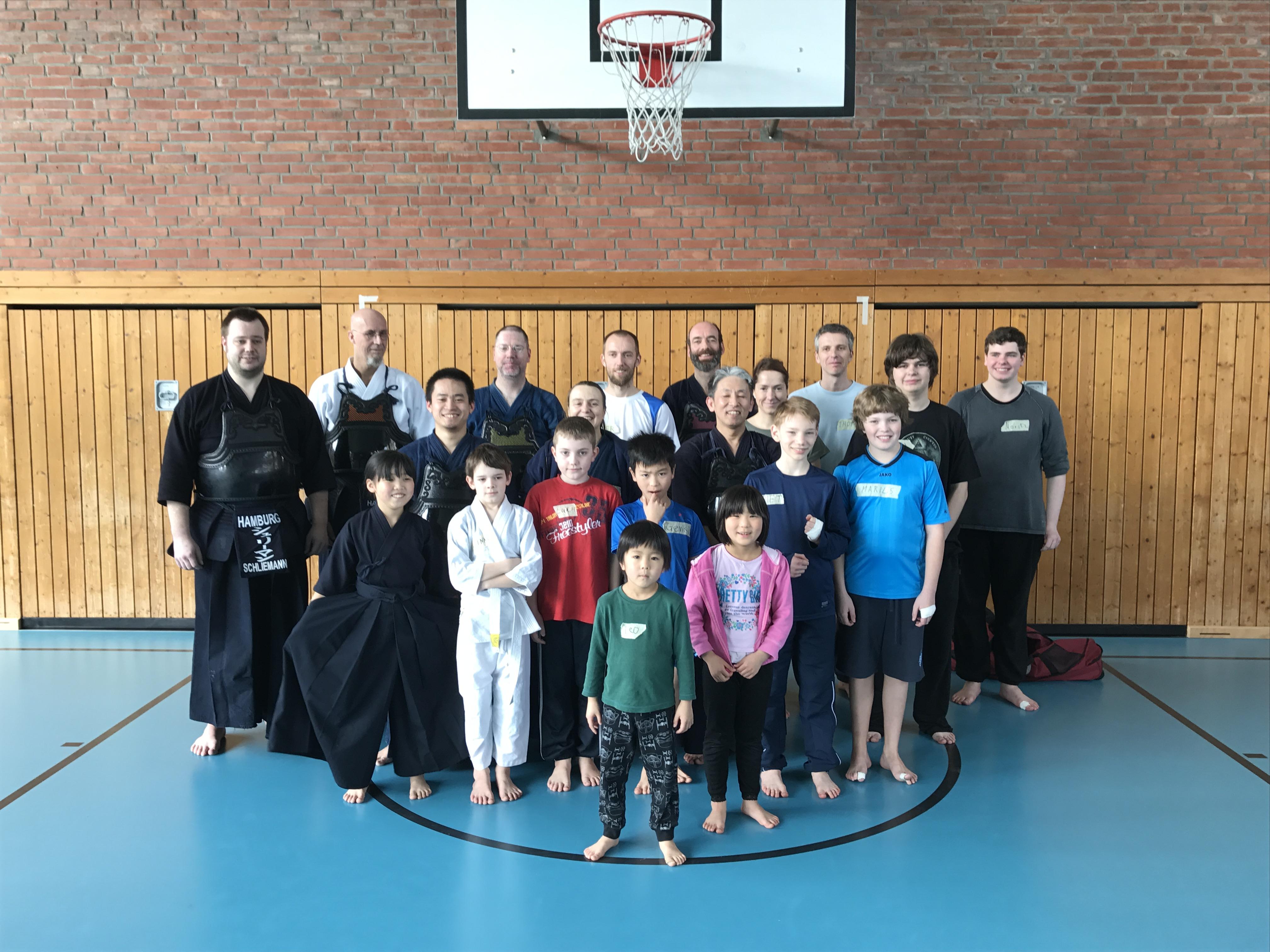 Gute Resonanz zum Kendo Anfängerkurs Ende März