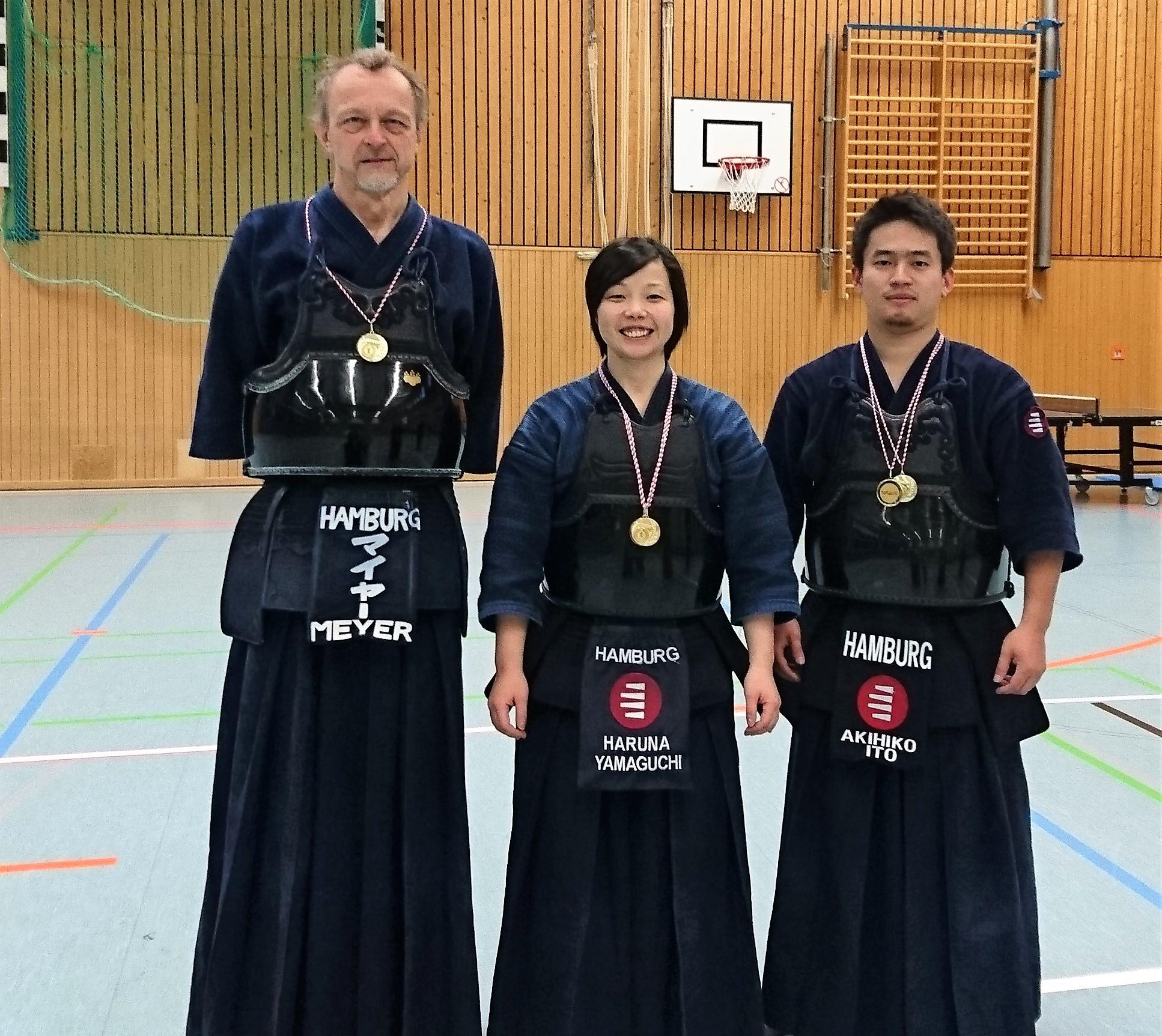 Kendo Sportler des SVE erneut im Medaillenregen