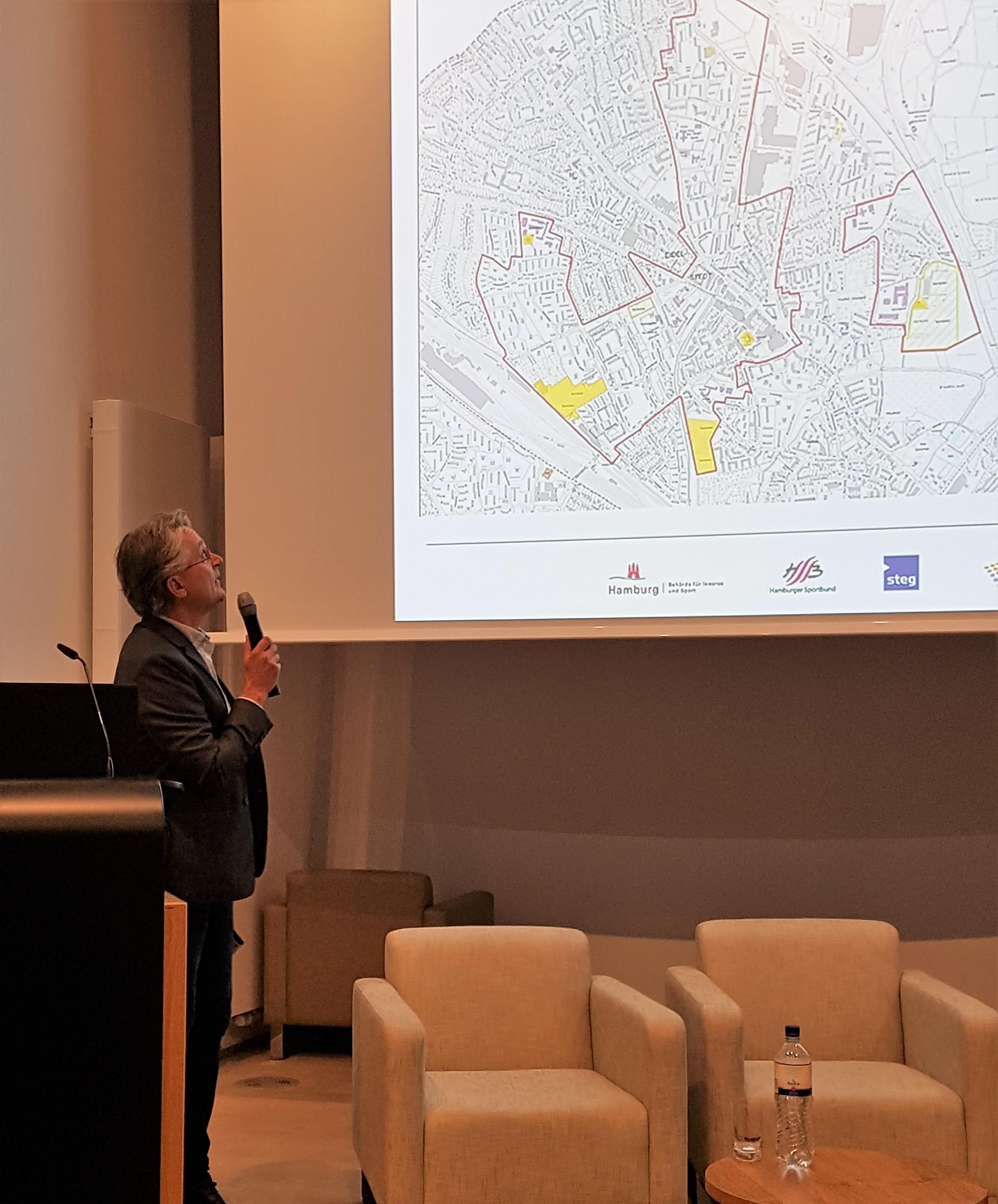 Symposium in der HafenCity – Stadtentwicklung durch Sport