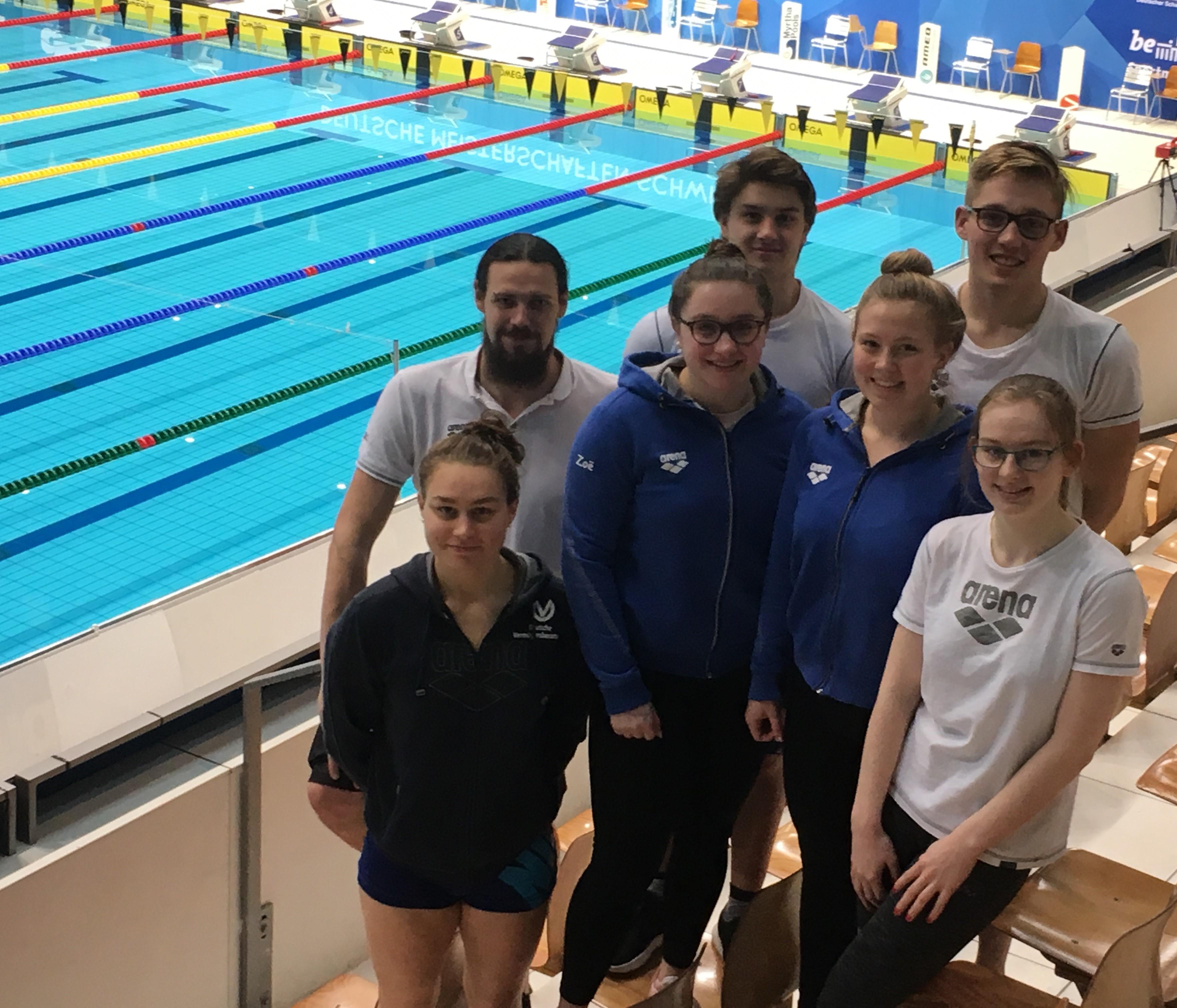 Erfolgreicher Jahresabschluss der Schwimmer