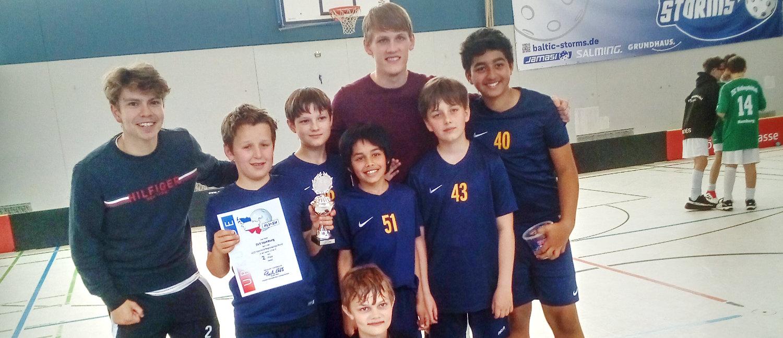 U13-Floorballer beenden starke Saison auf Rang zwei