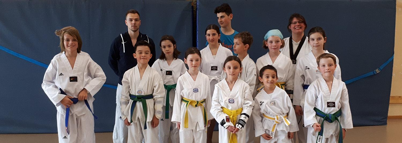 Erster Taekwondo-Lehrgang vom SVE