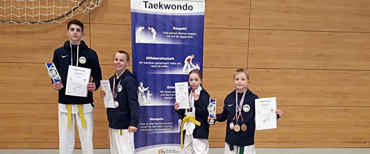 Starke Vorstellung der SVE-Taekwondo-Kämpfer*innen