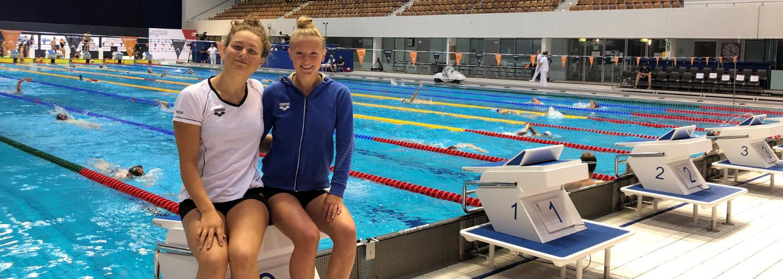 Starker Saisonabschluss der Schwimmerinnen