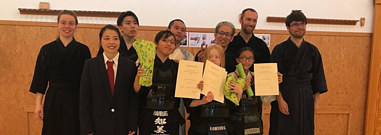 Kendo-Team sammelt wieder Medaillen