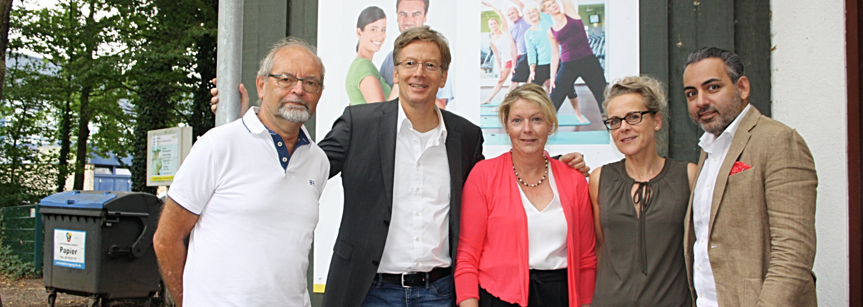 SPD-Sommertour zu Besuch am Steinwiesenweg