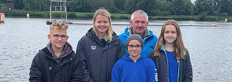Gold für Lara Langhein bei Norddeutschen Freiwassermeisterschaften