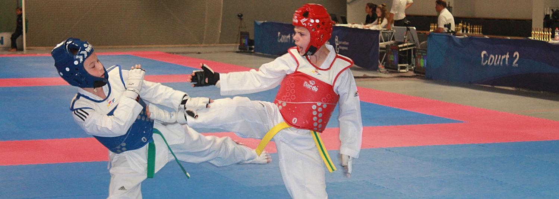 Vizemeister-Titel für Dennis im Taekwondo Vollkontakt