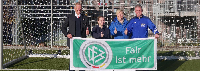 Fairplay-Geste des Monats für Fußballerin Nele Zabel