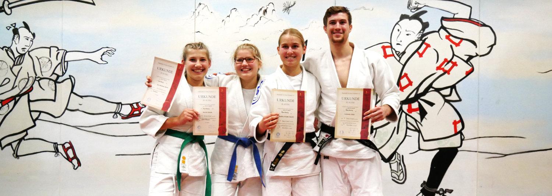 Neue Graduierungen für SVE-Ju-Jutsu-Trainer