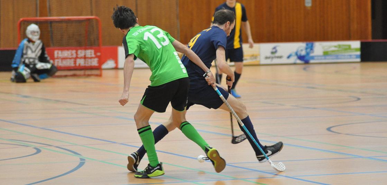 SVE-Floorballer verteidigen Tabellenführung