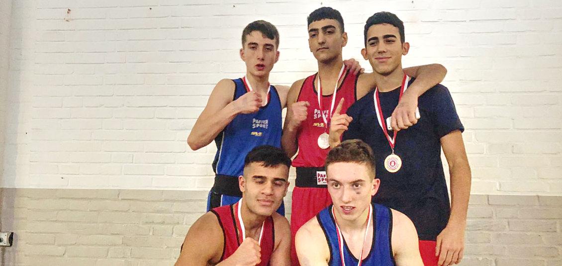 Sieben Medaillen für SVE-Boxer