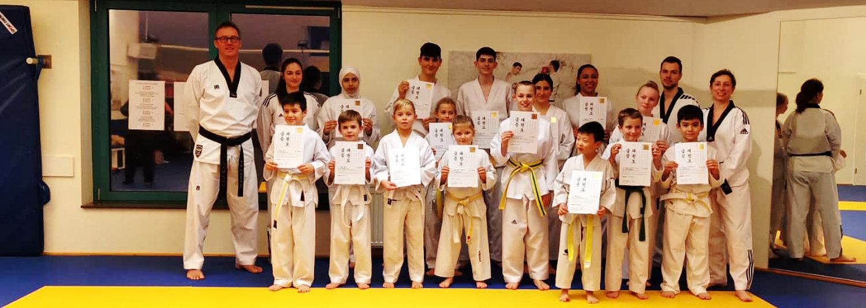 Taekwondo-Prüfung beim SVE