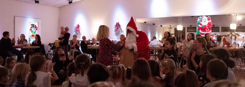 Weihnachtsfeier der Tanz Kids